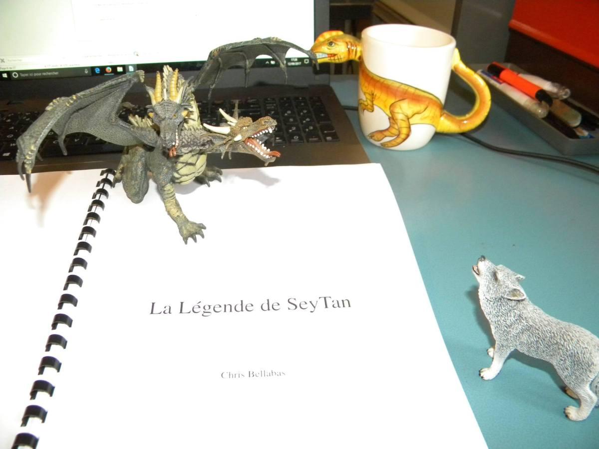 Projet d'écriture : La Légende de SeyTan [nouvelle d'heroic-fantasy]