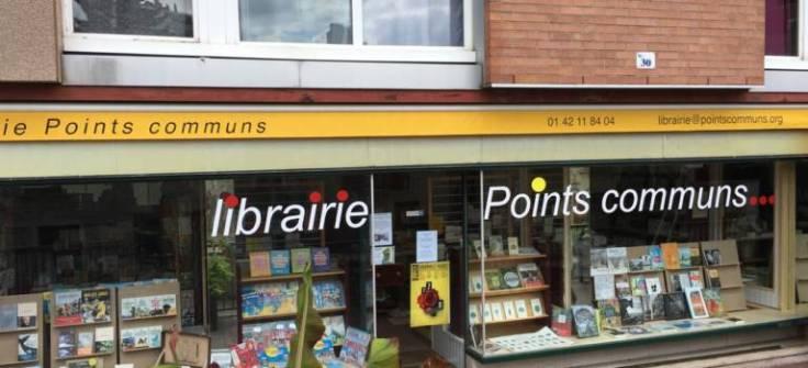 Librairie Points communs à Villejuif