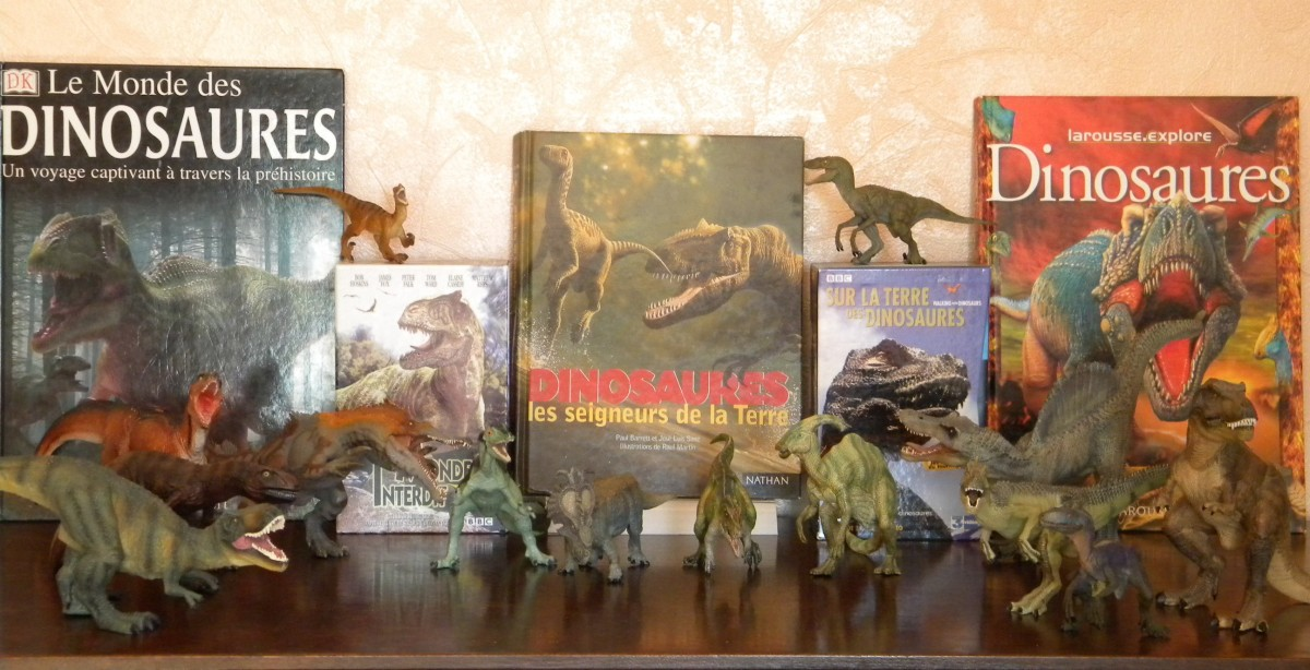 Ma collection de dinosaures Papo, Schleich, Safari, Collector, Rebor, Bullyland