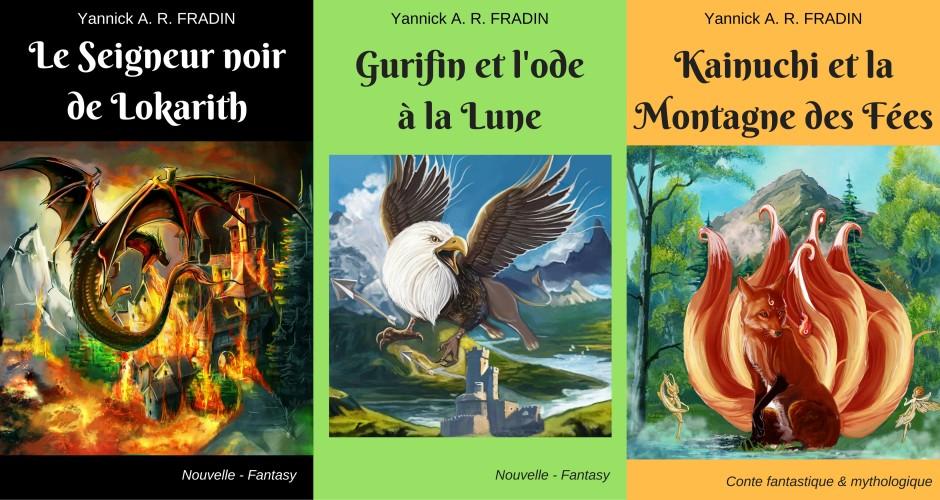Nouvelles et conte fantastique & mythologique Yannick AR FRADIN