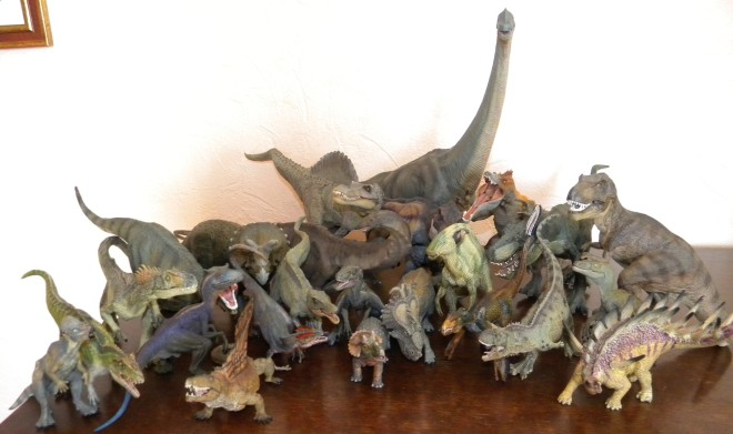 Collection dinosaures Papo