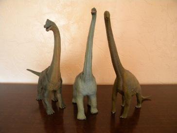 Brachiosaures Papo, Safari et Schleich
