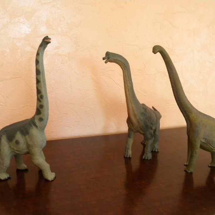 Brachiosaures Safari, Papo et Schleich
