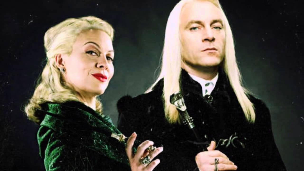 Lucius et Narcissa Malefoy