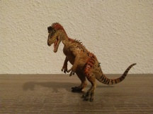 Cryolophosaurus Papo. Crédit : Chris Bellabas