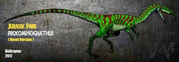 Jurassic Park Procompsognathus